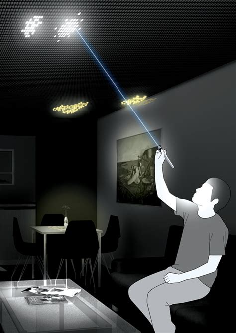 high tech bedroom gadgets mozart of lights yanko design