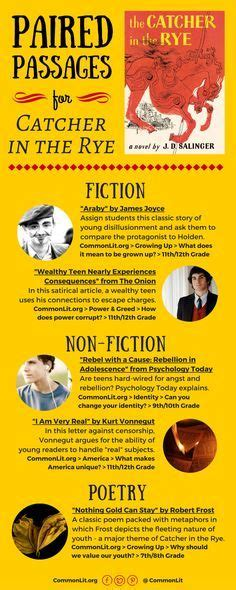 Catcher In The Rye Theme Sheet | 44 best teaching theme in literature images on pinterest