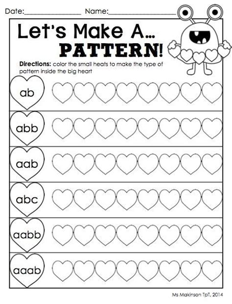 look for a pattern in math 109 best images about maths patterning on pinterest