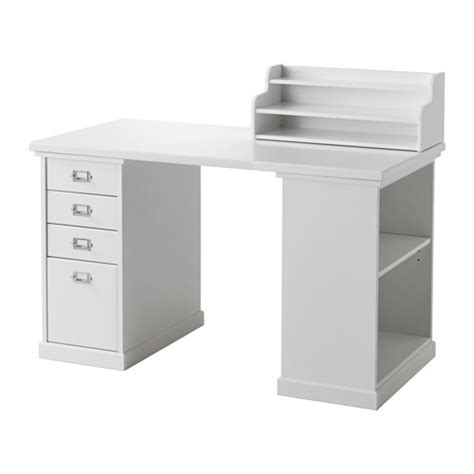 klimpen desk with storage white ikea