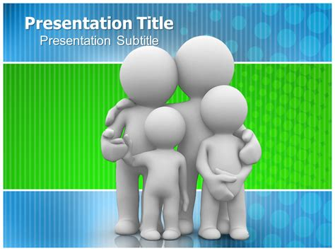 Family Care Plans Powerpoint Ppt Templates Ppt Family Powerpoint Templates Free