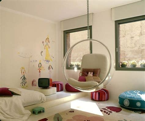 swing in kids room the boo and the boy hanging chairs swings in kids rooms
