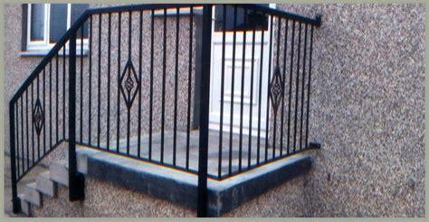 Wrought Iron Handrail Handrails Glasgow Iron Handrails Glasgow Domestic