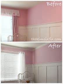 Painting Bedroom Ideas a painted faux eyelet border instead of crown molding