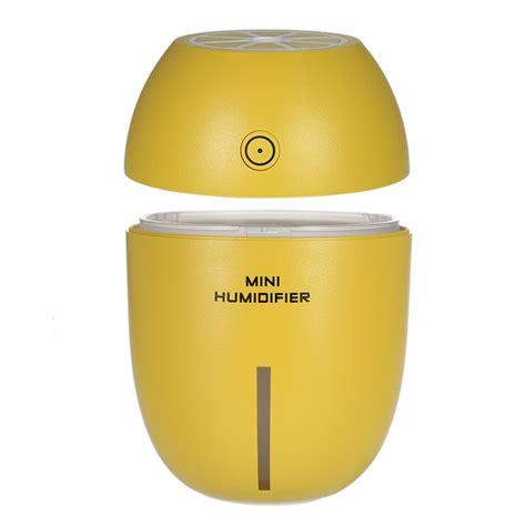 Lemon Mini Portable Humidifier Usb 180ml 180ml multifunctional portable usb humidifier with light lovely lemon shape handy mini
