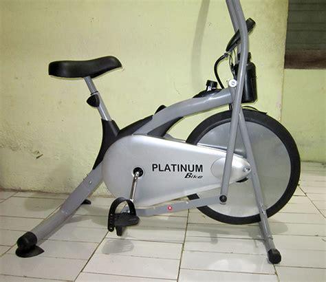 Alat Olahraga Fit sepeda statis platinum bike alat olahraga fitness di rumah