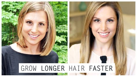 how long to grow hair from short angled bob to long bob how to grow longer hair faster kristen mee