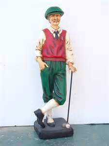 golf statues home decorating golfer statue 3 5ft home decor dallas by the