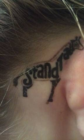 giraffe tattoo behind ear pinterest discover and save creative ideas