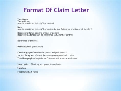 Insurance Letters After Name Adjustments And Claim