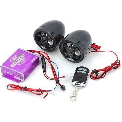 motosiklet muezik sistemi alarm radyo mp calar tex