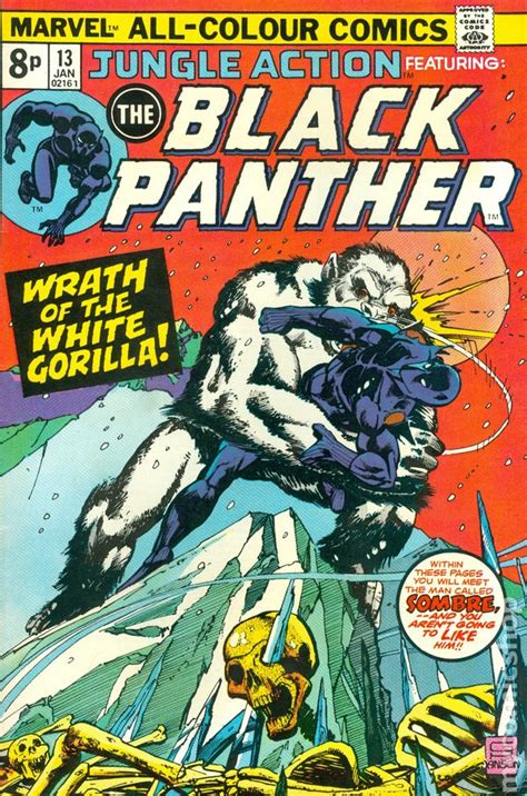 black panther epic collection panther s rage jungle 1972 uk edition comic books