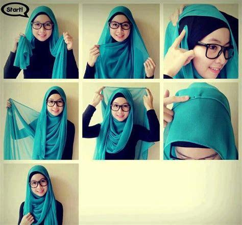 simple stylish hijab tutorials  beginners