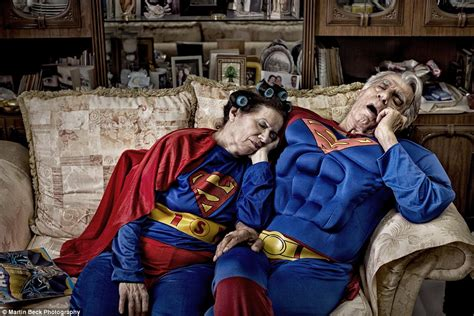Photographer Martin Beck imagines how superheroes could