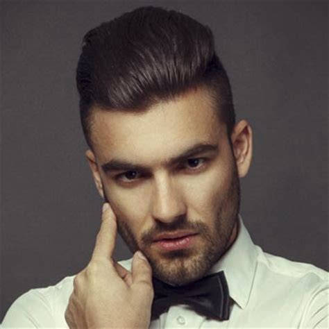 mens trending hairstyles 2014 تسريحات شعر رائعة تناسب الرجال مع جوانب الرأس المحلوقة