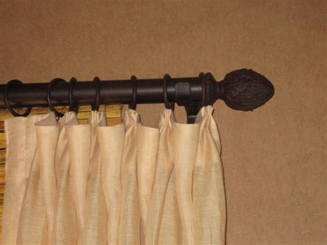 decorative rods for drapes decorative traverse curtain rods soozone