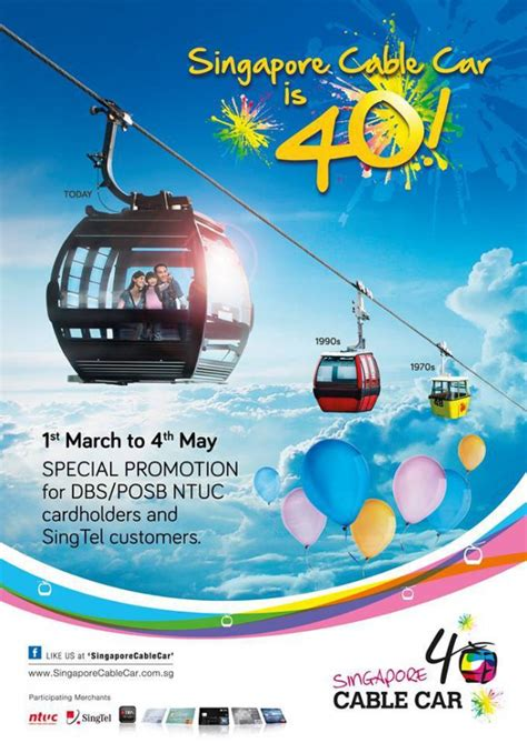 singapore cable car celebrates 40 years with 40