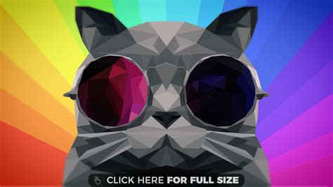 wallpaper poly cat rainbow hd wallpapers and rainbow desktop backgrounds up