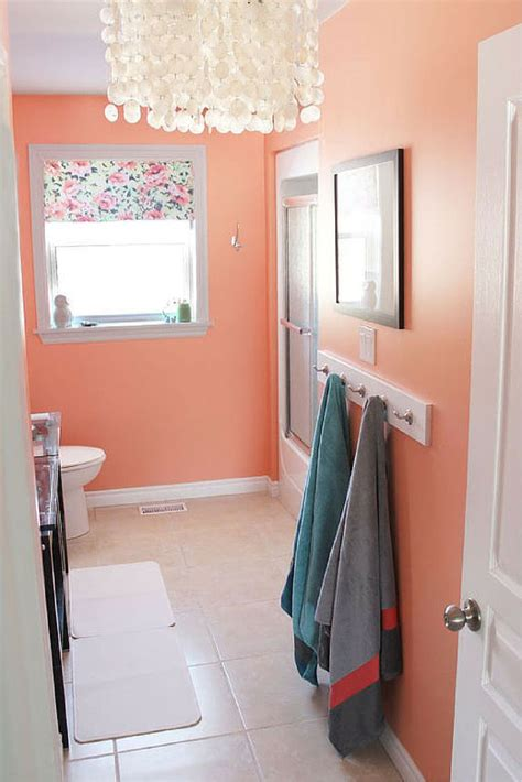 Salmon Colored Bathroom by Colored Bathrooms Bathroom Design Ideas