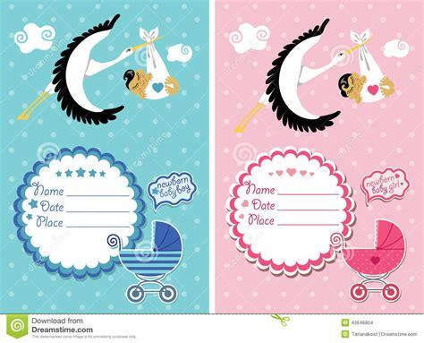 el beb es un b0185y0l38 invitaci 243 n de la fiesta de bienvenida al beb 233 con el beb 233 reci 233 n nacido foto de archivo imagen