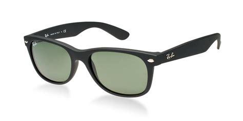 rb2132 matte black ban rb2132 622 matte black new wayfarer sunglasses