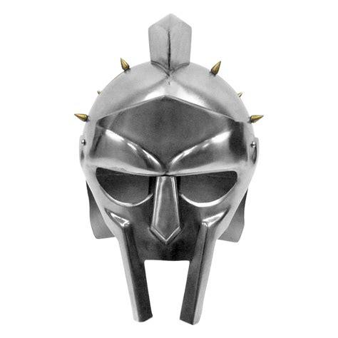 gladiator film helmet maximus decimus meridius gladiator helmet w brass spikes