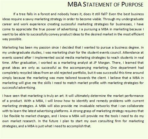 Can I Start An Mba In The by Where Can I Find Mba Sop Exles Quora