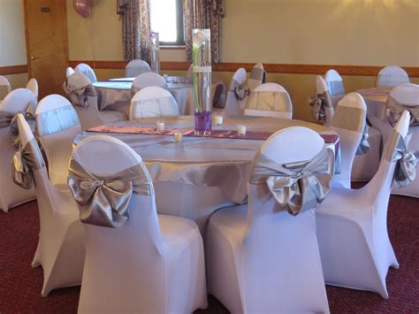 silver spandex chair sashes spandex chair and table covers silver satin table