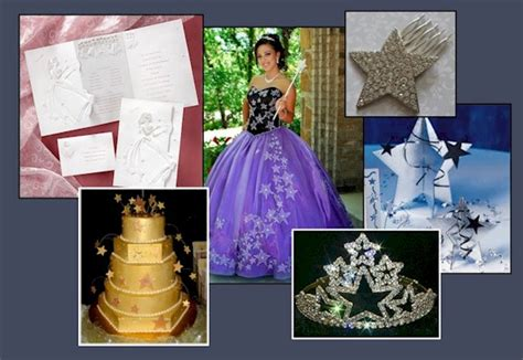 quinceanera star themes quinceanera star centerpieces image search results