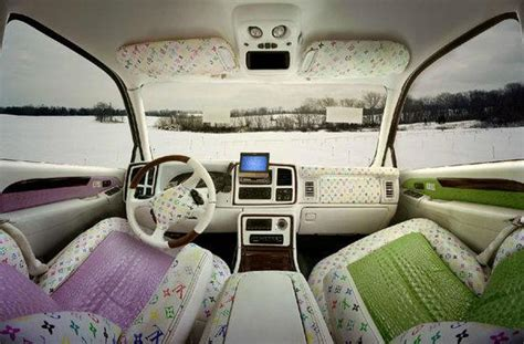 louis vuitton car upholstery louis vuitton burberry and fendi themed car interiors