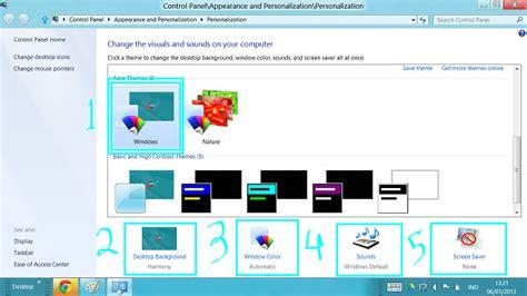 membuat power point windows 8 cara membuat tema windows 8 sendiri tips dan trik windows 8
