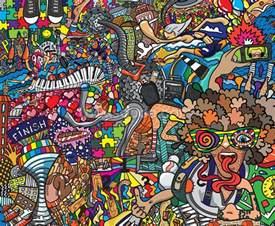 sports graffiti wall mural sports graffiti wallpaper colourful aztec masks graffiti wall mural
