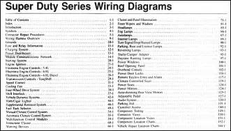 2006 ford f 250 thru 550 duty wiring diagram manual original