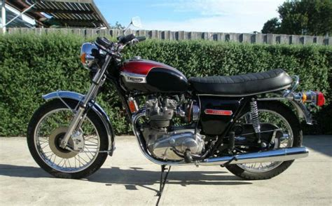 1973 triumph trident t150 classic motorcycle pictures