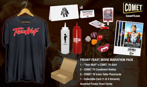 10 News Tv Giveaway - comet tv november giveaway teen wolf freaky feast pack zombies don t run
