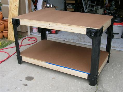 2x4 work bench pics for gt garage workbench 2x4