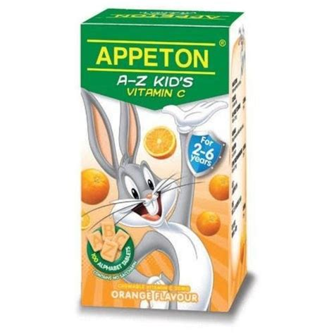 Vitamin Appeton Appeton A Z Kid S Vitamin C Reviews