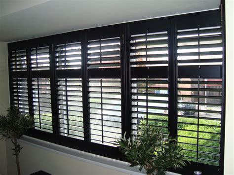 black plantation shutters black plantation shutters images strangetowne about
