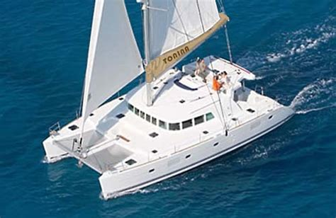 catamaran drug tonina luxury catamaran sailing vacations yachts for