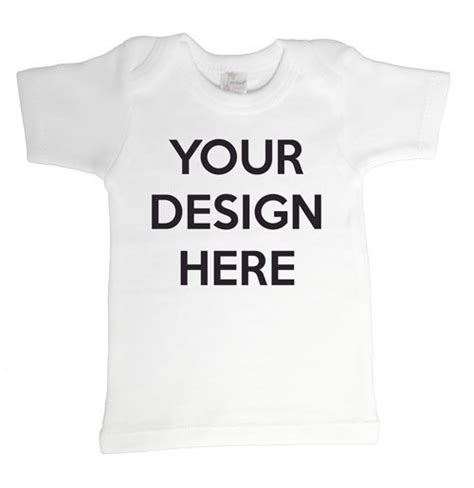design your own baby t shirt personalized products word on