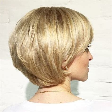 bob hairstyles layered and cut fuller over ears 70 cute and easy to style short layered hairstyles