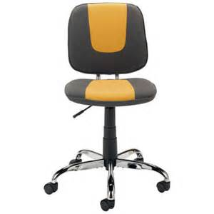 chaise dactylo metro coloris gris jaune vente de