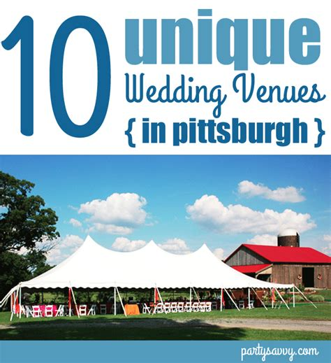 Wedding Venues Pittsburgh by Pittsburgh Wedding Venues 10 Unique Venues To Host Your