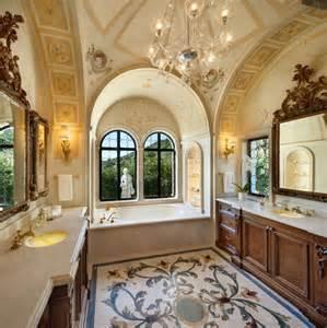 mediterranes badezimmer italian palazzo in montecito by sfa design dk decor