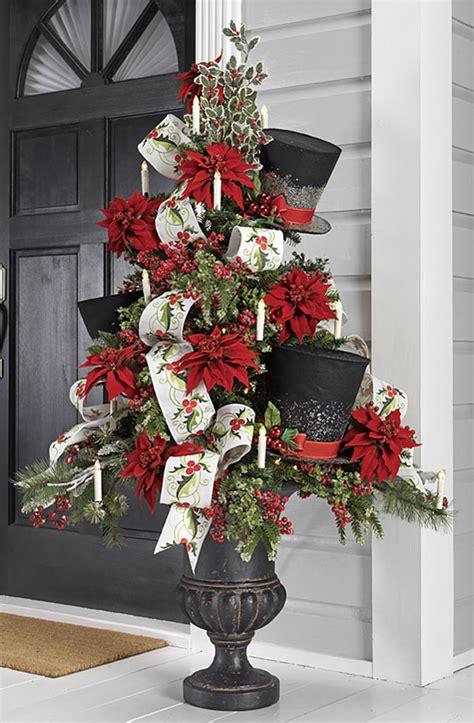 Christmas Outdoor Topiary Trees - 2016 raz christmas trees trendy tree blog holiday decor inspiration wreath tutorials