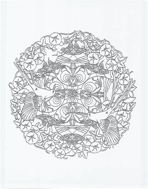 hippie mandala coloring pages animal mandala hummingbird coloring pages pinterest
