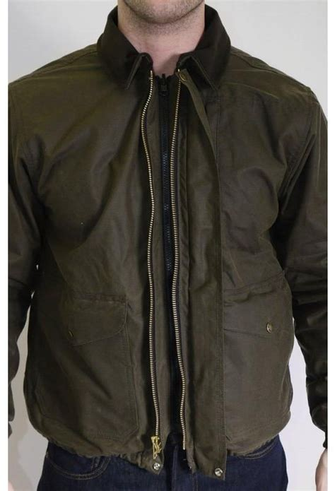 Jaket Conver filson cover cloth bomber jacket otter triads