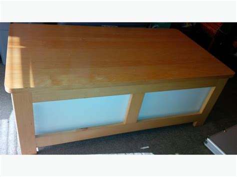 coffee table with drawers and wheels ikea coffee table two storage drawers on wheels saanich