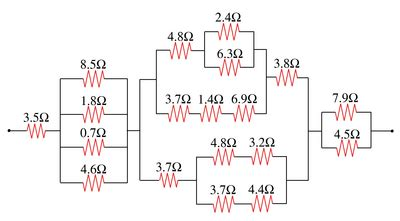 resistor circuit problems and solutions inheritance