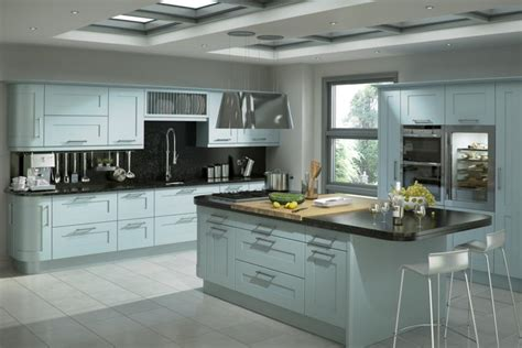 modern kitchens and bathrooms happiest when the sky is blue alaris for designer